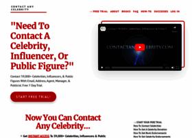 contactanycelebrity.com