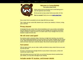 contactbyweb.com