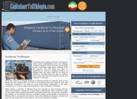 containertoethiopia.com