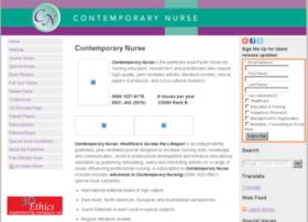 contemporarynurse.com