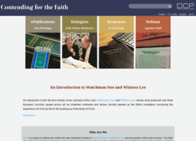 contendingforthefaith.org