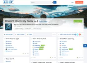 content-discovery-tools.zeef.com