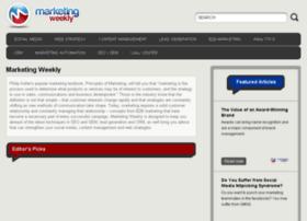 contentmanagement.marketingweekly.com