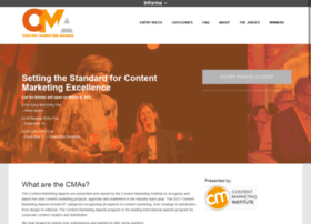 contentmarketingawards.com