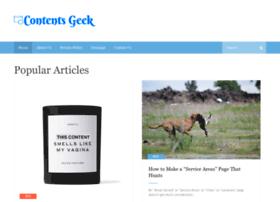 contentsgeek.com