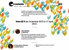contentsmagazine.com