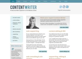 contentwriter.com.au
