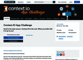contextio.challengepost.com