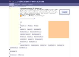 continental-restaurant.b99.co.uk
