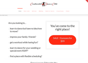 continentaldanceclub.com