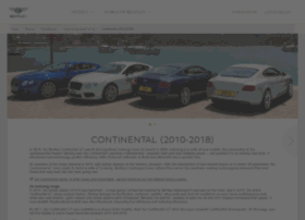 continentalgt.bentleymotors.com