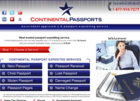 continentalpassports.com