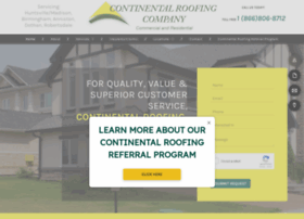 continentalroofing.net