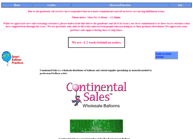 continentalsales.net