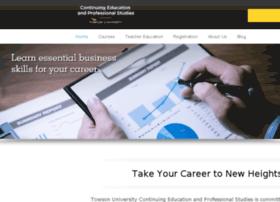 continuingeducation.towson.edu