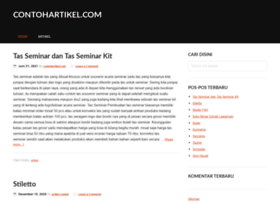 contohartikel.com