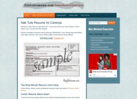 contohresume.com
