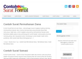 contohsuratformal.com