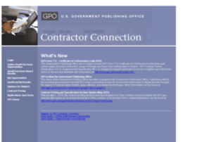 contractorconnect.gpo.gov
