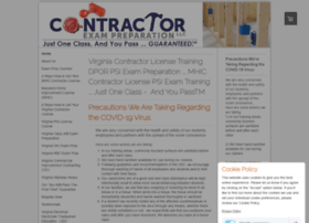 contractorexampreparation.com