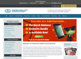 contractorslicensingschools.com