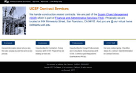 contracts.ucsf.edu