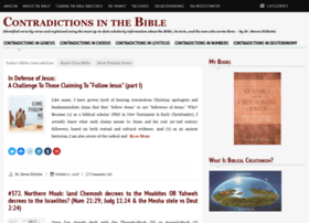 contradictionsinthebible.com