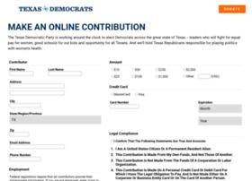 contribute.txdemocrats.org