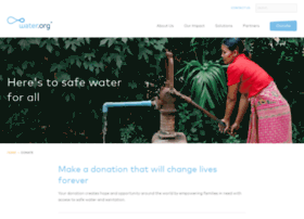 contribute.water.org