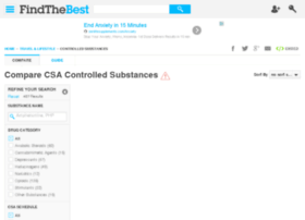 controlled-substances.findthebest.com