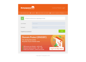 controlpanel.easyspace.com