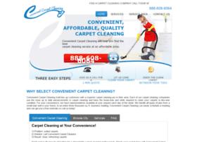 convenientcarpetcleaning.net