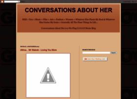 conversationsabouther.blogspot.com
