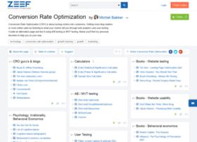 conversionrateoptimization.zeef.com