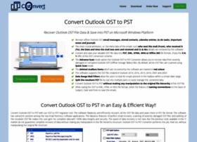 convertoutlookost.com