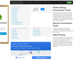 convertstring.com