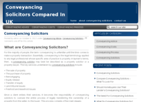 conveyancingsolicitors.co.uk