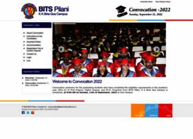 convocation.bits-goa.ac.in