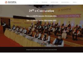 convocation.manipal.edu
