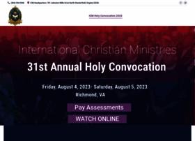 convocationicm.com