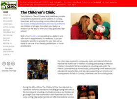 conwaychildrensclinic.com