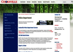 cookevillepolice.com