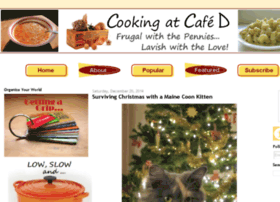 cookingatcafed.com