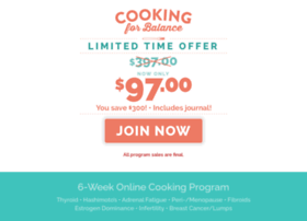 cookingforbalance.com