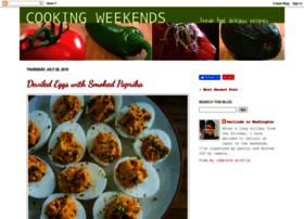 cookingweekends.blogspot.com