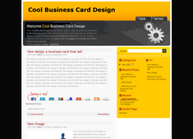 coolbusinesscarddesign.com