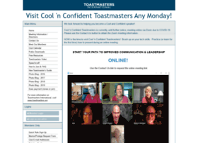 coolnconfident.toastmastersclubs.org