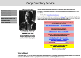 Coopdirectory.org
