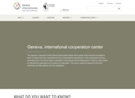 cooperationinternationalegeneve.ch