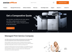 copiers.axiaoffice.com.au